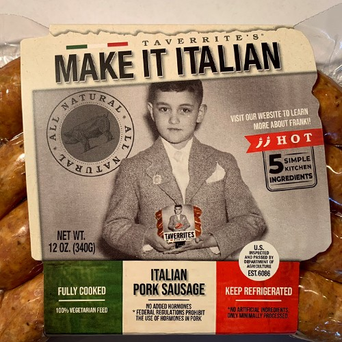 Italian Sausage Hot All Natural